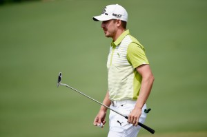 Jonas Blixt, FSU graduate, at the 2014 Masters