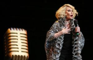 Joan Rivers on Broadway