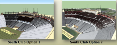 The proposed Champions Club premium seat section.