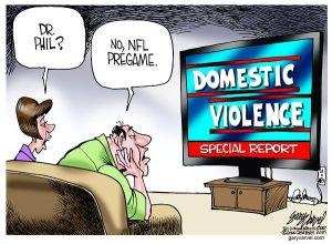 Cartoonist Gary Varvel: NFL focuses on domestic violence