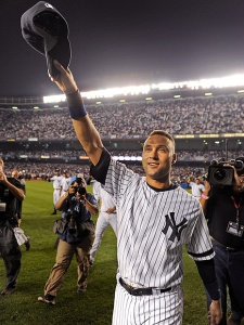 Jeter played professional baseball for 20 seasons.