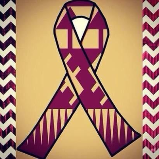 FSU players wore this decal on their helmets in the game against Boston College as a symbol of school unity after the incident in Strozier Library on Nov. 20.