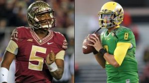 The FSU Seminoles will play the Oregon Ducks in the Rose Bowl on New Year's Day.