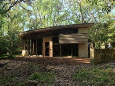 The Spring House is the only preserved Frank Lloyd Wright house in Florida.