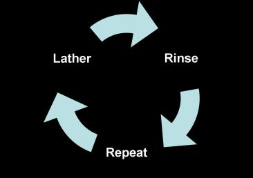 It's the circle of life. Or shampoo. Or neither really.