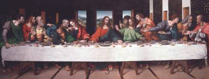 Yeah, eat so it won't be your... Last Supper... Yeah that was awful.